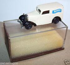 MICRO BREKINA HO 1/87 DKW F7 RAMA CREME in box