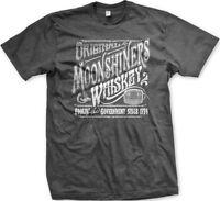 Original Moonshiners Whiskey Moonshine Foolin' The Government 1776 Mens T-Shirt