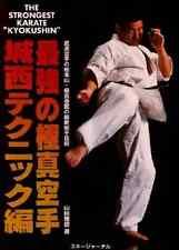 Kyokushin karate Manual book, Shokei Matsui,1996