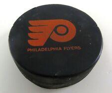 PHILADELPHIA FLYERS Viceroy Vintage Game Used Hockey Puck  CANADA  The Spectrum