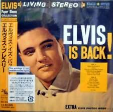 """ELVIS PRESLEY""""Elvis Is Back!"""" CD+OBI JAPAN BVCM-37088 MINT(Paper sleeve)"""