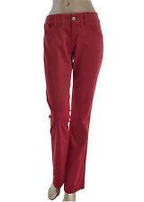 ARMANI JEANS pantalone donna - rosso - cinque tasche in PROMOZIONE