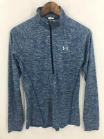 Under Armour Heat Gear Women's  1/2 Zip Pullover Athletic Workout Shirt Size S