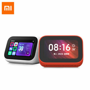 For Xiaomi AI Touch Screen Smart Speaker Digital Display Alarm Clock WiFi