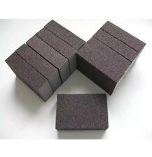 2 X COARSE WET DRY FOAM SANDING BLOCKS ABRASIVE SANDPAPER GRADES PADS GRIT New