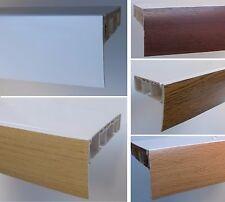 Blende für Gardinenschiene Vorhangschiene Schiene in 50 mm Breite 5 Farben neu