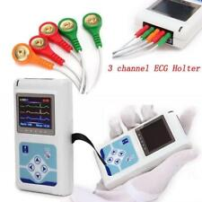 Holter 24 hours 3 Channel ECG/EKG Monitor System CONTEC TLC9803 USB Software,CE