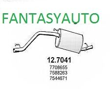 MARMITTA TERMINALE FIAT PANDA (141A_) 750  25kw 34cv DAL 1986 AL 1992 C. 127041