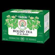TADIN BOLDO HERBAL TEA 24 BAGS   / 2 BOXES  TE DE BOLDO CON 24 BOLSAS