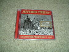 JEFFERSON STARSHIP - LIVE IN CENTRAL PARK 1975 - DOUBLE CD ALBUM - NEW/SEALED