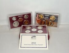 2010 United States Mint Silver Proof Coin Set In Original Packaging