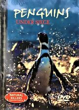 Natural Killers Predators Close-Up: PENGUINS Under Siege DVD + Book BRAND NEW R0
