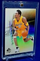 KOBE BRYANT SP AUTHENTIC ATHLETIC RAINBOW REFRACTOR SP RARE LOS ANGELES LAKERS