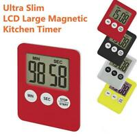 Electronic Timer Kitchen Countdown Clock Stopwatch Cooking Small Alarm Clock