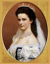 Sisi  Portrait Kaiserin Österreich K&K Monarchie Faksimile 12 auf Büttenpapier