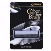 Vinilo Antiestática Fibra de Carbono Registro Polvo Limpiador Cepillo Limpiar