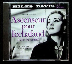EBOND Miles Davis – Ascenseur Pour L'Échafaud Lift To The Scaffold CD CD020017