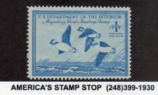 1948 US RW15 $1 Federal Duck Migratory Bird & Hunting - Buffleheads - MNH*