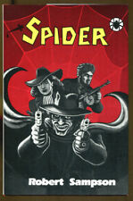 Spider! by Robert Sampson-First Edition in Dust Jacket-1987-Pulp Hero-Scarce