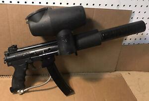 Tippmann A-5 Paintball Gun Black W/ Hopper And Barrel
