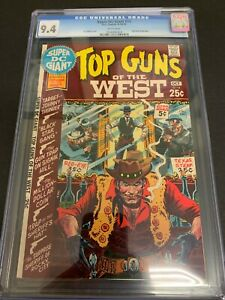 SUPER DC GIANT #14 * CGC 9.4 * (DC, 1970) KUBERT COVER!  WHITE PAGES! S-14