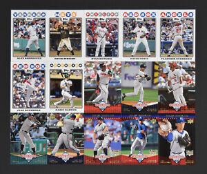 100 Card Lots 2008 National Baseball card Day NBCD Mint
