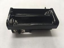 NEW*OEM BLACK AA BATTERY TRAY RADIO SHACK PRO-651 PRO-106 GRECOM PSR-500 WS1040