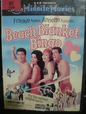 Beach Blanket Bingo (DVD, 2001) Frankie Avalon WORLD SHIP AVAIL