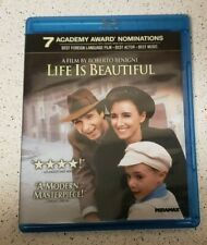 Life Is Beautiful (Blu Ray, 2011) Roberto Benigni Academy Award Winner Rare Oop!
