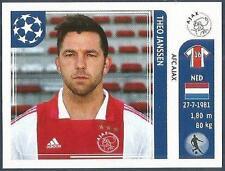 PANINI UEFA CHAMPIONS LEAGUE 2011-12- #252-AJAX-THEO JANSEN