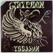 GRYPHON: Treason UK Harvest SHSP 4063 Prog Rock Vinyl LP NM- Wax