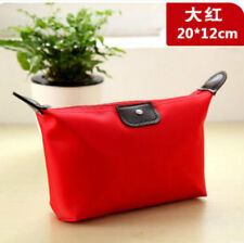 New Women's cosmetic bag lady canvas storage Red purse handbag wallet