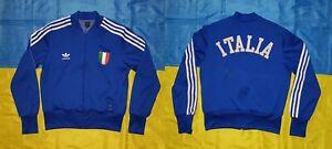 ● RARE ITALY WC 1974 RETRO REMAKE SPORT JACKET ADIDAS SIZE MEN'S ADULT 42 (S) ●