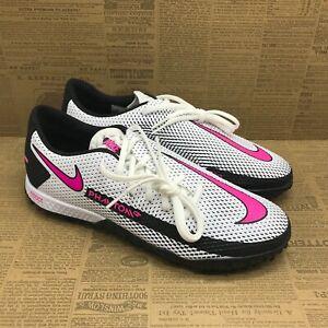 Nike Mens React Phantom GT PRO TF CK8468-160 White Pink Soccer Cleats Size 7.5