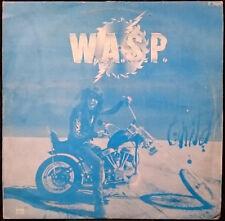 "W.A.S.P. Wild Child Rare OOP 3 Track South Korean 12"" 45 RPM Single Blue Cover"