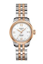 New Tissot Le Locle Automatic Diamond Two-Tone Steel Women's Watch T41218316
