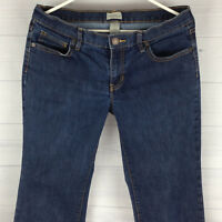 GAP Long & Lean Women's Size 10/30A Mid Rise Bootcut Blue Dark Wash Denim Jeans
