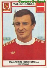 329 JEAN-PIERRE DESTRUMELLE US.VALENCIENNES VIGNETTE STICKER FOOTBALL 76 PANINI