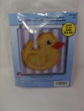 Design Works BABY DUCK in Frame 3D Plastic Canvas Kit