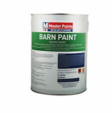 "5 LITRE AGRICULTURAL BARN PAINT ""OXIDE FINISH""RED OXIDE"