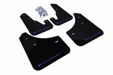 Rally Armor Black Mud Flap w/ Blue Logo For 04-09 Mazda3 / MazdaSpeed3