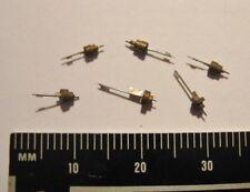 lot of 6 Asst. NOS Verge Fusee Balance Staffs Pocket Watch Repair Parts