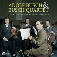 Adolf Busch and The Busch Quartet - The Complete Warner Recordings [CD]