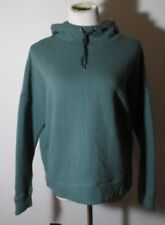 Women's SPAULDING Green Warm Quilted Hoodie Size XL