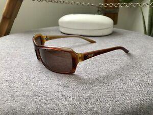 ROXY Sunglasses Women's Tan Brown Petite Fit Quiksilver