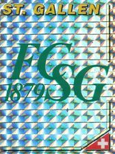 174 BADGE LOGO # SUISSE FC.ST.GALLEN METAL STICKER PANINI FOOTBALL 95