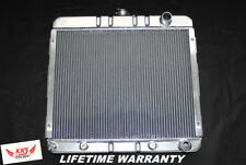 KKS 3 ROW STAMP TANK ALUMINUM RADIATOR FOR 1967-1973 PLYMOUTH VALIANT,DUSTER