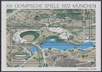 Bund Block 7 **, Olympiade München 1972, postfrisch, MNH