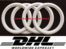 "15"" inch White Wall Portawall Rubber ring 4pcs VW BUG PRE BEETLE . #001"