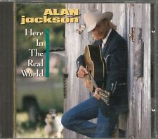 CD ALBUM 10 TITRES--ALAN JACKSON--HERE IN THE REAL WORLD--1989
